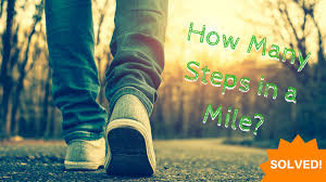 Steps To Miles Conversion Chart Approximate How Many Steps In A Mile Solved Sparkpeople