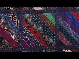 Recycling mens ties into quilts with Valerie Nesbitt (Taster Video ... & Recycling mens ties into quilts with Valerie Nesbitt (Taster Video) -  YouTube Adamdwight.com