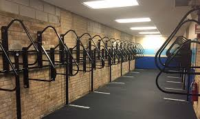 Storage with office space Haul Secure Bike Storage Bike Storage Bike Storage Oil City News Butler Square Office Space Bike Lockers