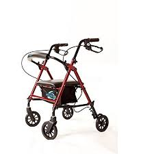 Rollator Comparison Chart Super Light Rollator Lightweight Aluminum Loop Brake Folding Walker Adult W Height Adjustable Seat By Legs And Arms W 6
