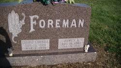 """Golda Agnus """"Goldie"""" Cornell Foreman (1906-1998) - Find A Grave ..."""