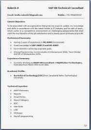 resumeformat16 sap hr payroll consultant resume