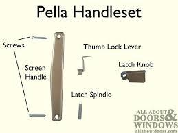 pella screen door handle modern concept storm door handles with find door handles pella storm door repair parts