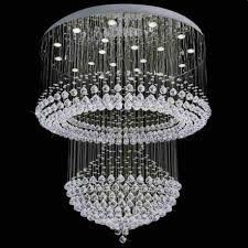 chandelier modern crystal chandelier modern chandelier rain lighting fall with 2 level bubble crystal lamp