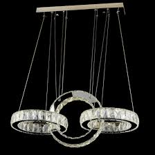 modern crystal chandelier lighting decorative led crystal pendant light