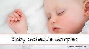 Baby Awake Time Chart Baby Awake Time Chart Learning Momma