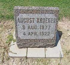 August Krueger (1877-1922) - Find A Grave Memorial