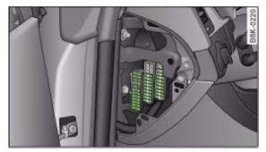 audi a4 b8 2007 to 2015 fuses list and amperage audi a4 b8 fuse box location audi a4 b8 fuse box diagram location