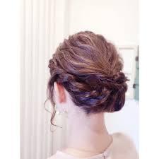 結婚式編み込みまとめ髪 Mu Kichi 三鷹店ムーキチ ミタカテンの