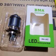 Bóng đèn LED xe máy BMA 3 chân H4 tại Trà Vinh