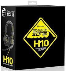 <b>Гарнитура игровая проводная Sharkoon</b> Shark Zone H10 купить в ...