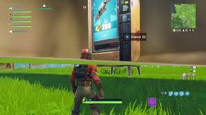 How To Glitch A Vending Machine Mesmerizing Vending Machines Coming To Fortnite Battle Royale Fortnite Insider