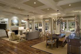 charleston coffered ceiling pictures with rustic dining room tables living victorian and fireplace sisal rug