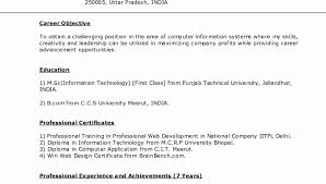 Curriculum Vitae Sample Format Delectable Frightening Resume Format Download Doc File Indian In Word Free
