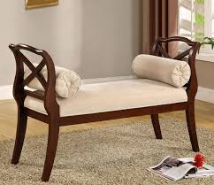 small settee bench. Exellent Bench Settee Bench Wooden Armrests Small Space Furniture Ideas In Small Settee Bench I
