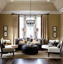 living room brilliant space which implemented with several armless chairs for