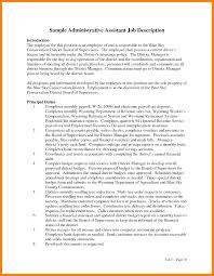 Administration Job Description Template. Job Announcement Nics ...