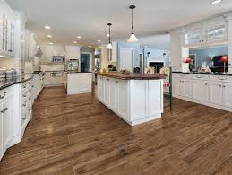 wood floors vs tile in kitchen photos