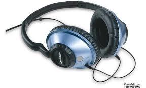 bose headphones blue. bose® around-ear headphones glacier blue bose