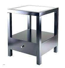 glass round top side table ikea bedside the for end replacement pertaining to prepare replacem