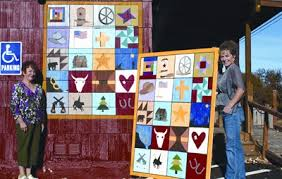 Pamplin Media Group - Pamplin Media Group & Local artist Charlene Chauncey recently painted murals to be displayed on  the exterior walls of the The Quilt Shack with the hopes of attracting  customers ... Adamdwight.com