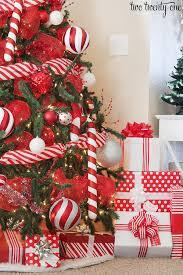 2016 Red White Christmas Tree Christmas Tree Christmas Decor