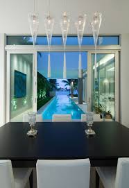 fun living room chairs houzz family room. Modern Home Rectangle Pool Living Room Glass Walls Florida Luxury Beach Mansion White Fun Chairs Houzz Family