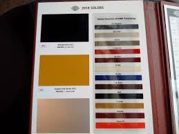Harley Davidson 2019 Color Chart 08 Harley Davidson Color Chart Thelifeisdream