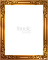frame design. Fine Design Gold Photo Frame With Corner Line Floral For Picture Vector Design  Decoration Pattern Style For Frame Design E