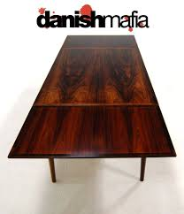 Rosewood Dining Table Mid Century Danish Modern Rosewood Dining Table Eames Danish Mafia