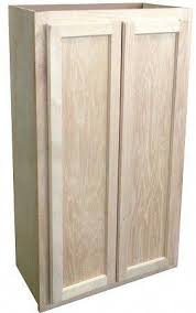 wall cabinet 24x30 unfinished oak