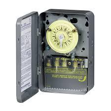 intermatic 40 amp 1 mechanical residential hardwired lighting timer