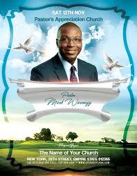 Free Church Flyer Templates Photoshop Pastors Appreciation Church Free Flyer Template Download Psd