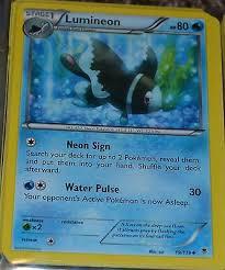 Lumineon 19 119 Xy Phantom Forces Set Pokemon Trading