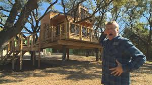 tree house pictures. Behind The Build - City Sleeker Treehouse Tree House Pictures U