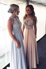 <b>Luxurious Beads Chiffon</b> Long Prom Dress from modsele ...