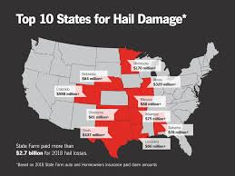In addition to auto, state farm writes just about any form of personal insurance you could want. Top 10 Hail Claim States Stay Safe State Farm
