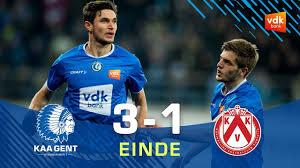 🎬KAA GENT - KV Kortrijk: 3-1 - YouTube