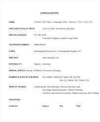 Resume Format In Word 2007 Resume Format Free Download In Ms Word 2007 For Freshers Pharmacist