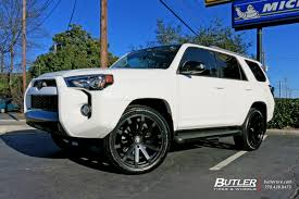 Toyota 4Runner with 22in Black Rhino Traverse Wheels exclusively ...