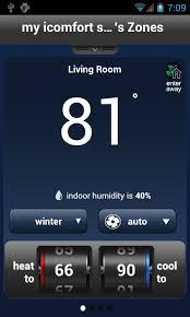 lennox smart thermostat. lennox icomfort wi-fi- screenshot smart thermostat