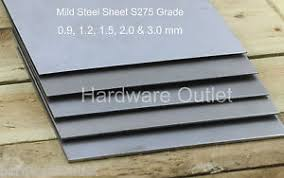 how thick is sheet metal mild steel sheet metal 9 1 2 1 5 2 0 3 0 mm thick guillotine cut