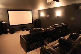 basement home theater.  Home Advertisements In Basement Home Theater