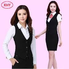 cotton or polyester uniform hotel front office hotel housekeeping uniform