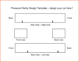 Free Design Templates For Pinewood Derby Cars Best Printable Pinewood Derby Templates Doras Website