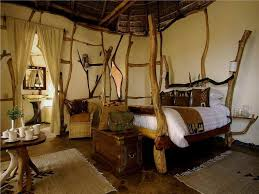 breathtaking african themed bedroom