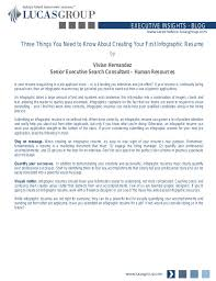 How To Prepare A Resume For An Interview Extraordinary Three Things You Need To Know About Creating Your First Infographic R