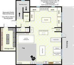 Home Office And Sewing Room Layout  JustsingitcomSewing Room Layouts And Designs