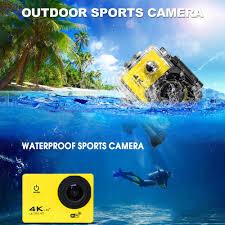 Thể Thao Hành Động Giám Sát Video Mini Băng Cá Camera Wifi Chống Nước Ultra  HD Bơi Dưới Nước Điều Khiển từ xa|Camera giám sát
