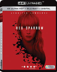 Red Sparrow [4K UHD+Blu-Ray] | Echo's Record Bar Online Store